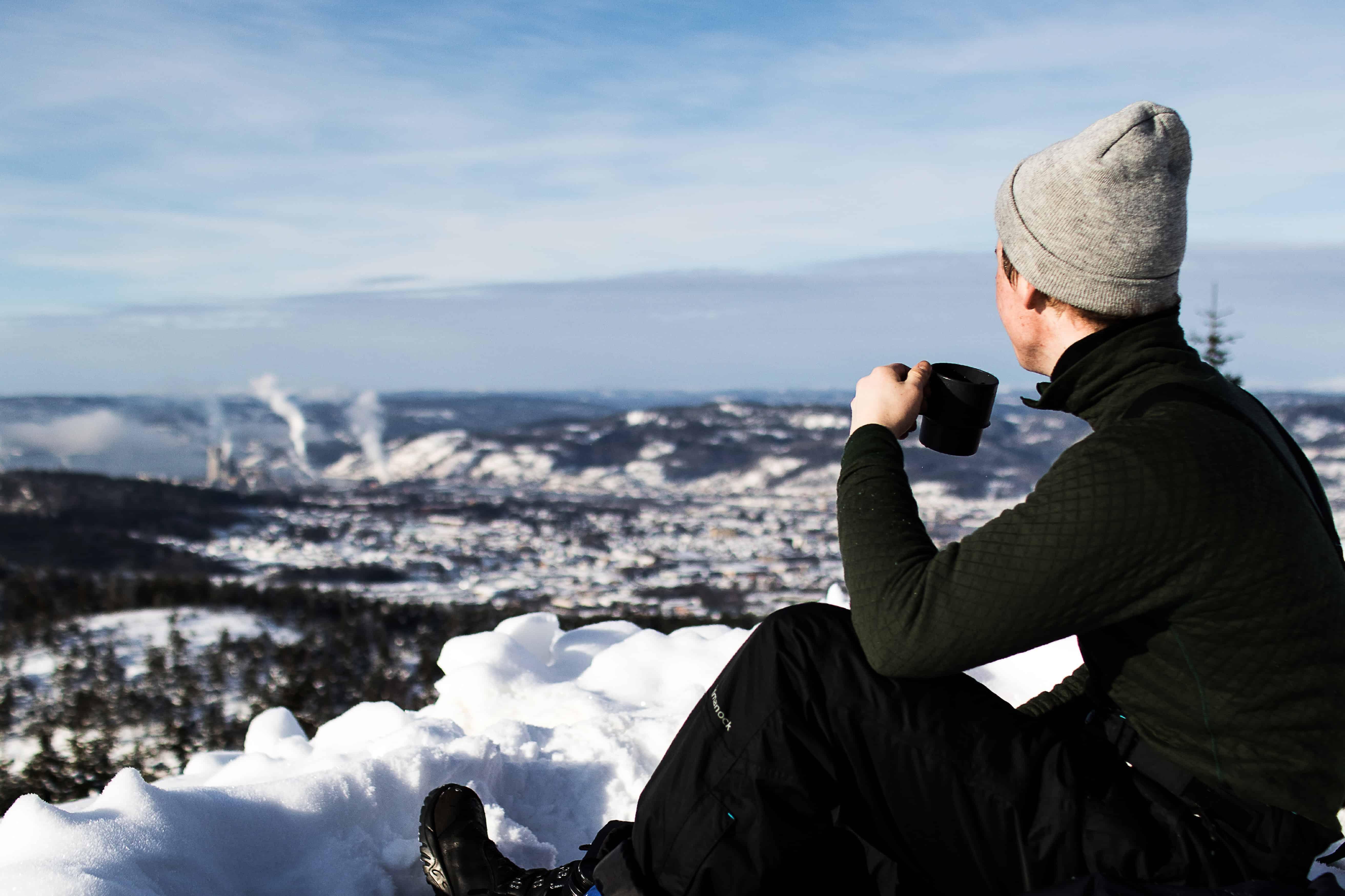 Värmande långkalsonger skyddar mot kyla och vind